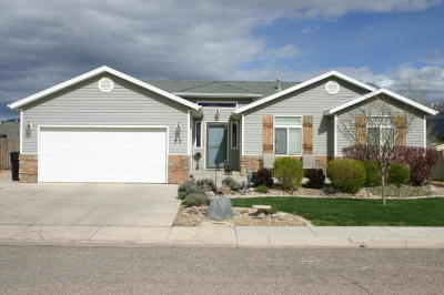 Cedar City Single Family Home Accepting Backup Offers: 90 N 4275 W