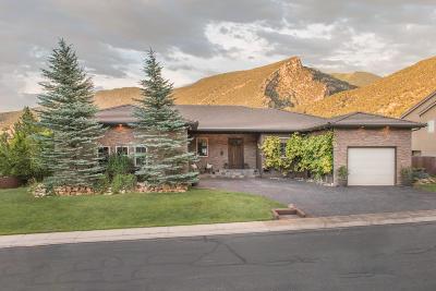 Cedar City Single Family Home For Sale: 1960 N Mill Hollow Way
