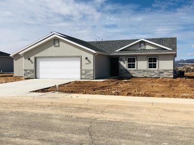 Cedar City Single Family Home For Sale: 1843 N 3400 W