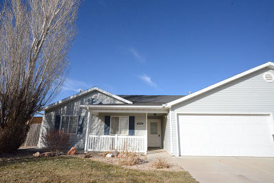 Cedar City Single Family Home Accepting Backup Offers: 4284 W 250 N