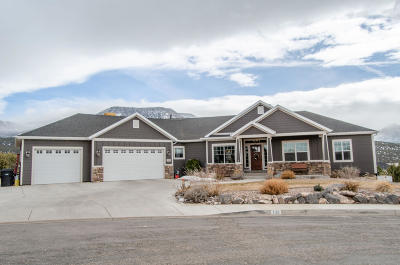 Cedar City Single Family Home For Sale: 2133 S Hawk Dr