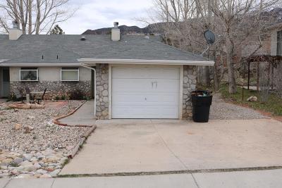Cedar City UT Single Family Home For Sale: $159,900