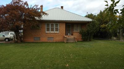 Parowan Single Family Home For Sale: 1588 W 200 S