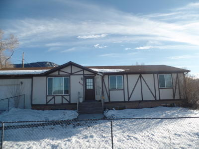 Cedar City Single Family Home For Sale: 437 W Mountain View Dr