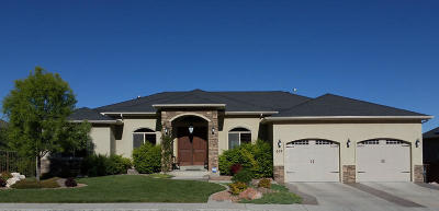 Cedar City UT Single Family Home For Sale: $525,000