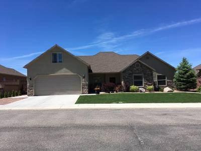 Cedar City UT Single Family Home For Sale: $289,000