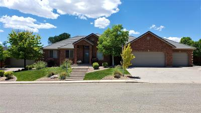 Cedar City UT Single Family Home For Sale: $614,900