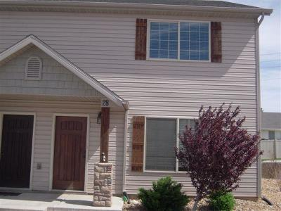 Cedar City UT Condo/Townhouse For Sale: $158,900