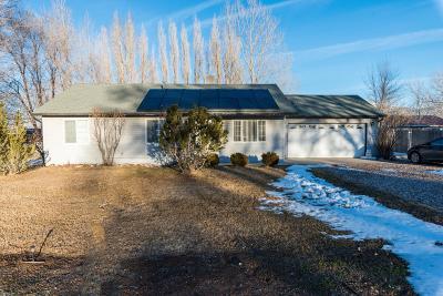 Cedar City Single Family Home For Sale: 5128 N 2950 W