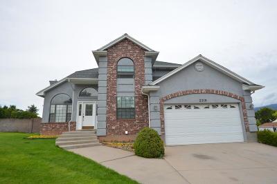 Cedar City Single Family Home For Sale: 2316 W Cove View Dr