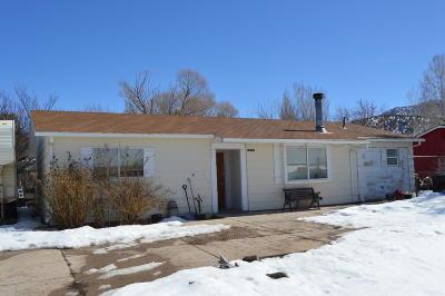 Parowan Single Family Home For Sale: 227 S 800 W