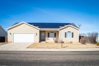 Cedar City Single Family Home For Sale: 4108 W 200 N