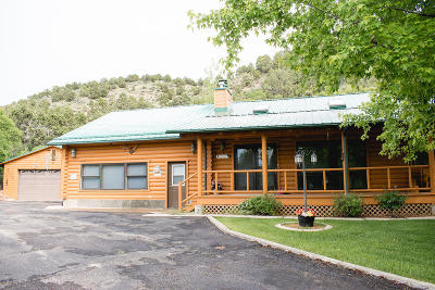 Beaver, Minersville, Milford Single Family Home For Sale: 2236 E Navajo Trail