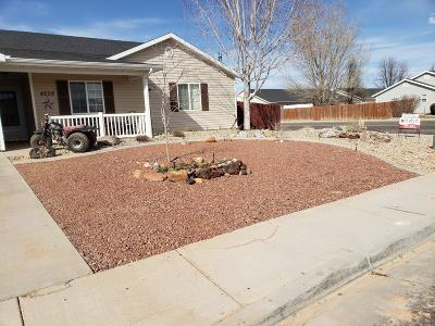 Cedar City Single Family Home For Sale: 4208 W 275 N