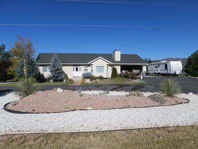 New Harmony Single Family Home For Sale: 704 S 3430 E