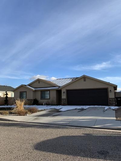 Cedar City Single Family Home For Sale: 1873 W Aaron Tippets Rd