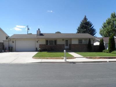 Cedar City Single Family Home For Sale: 532 S 515 W