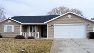 Cedar City Single Family Home For Sale: 4168 W 275 N