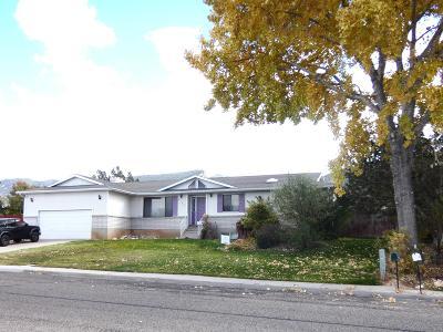 Cedar City UT Single Family Home For Sale: $259,000