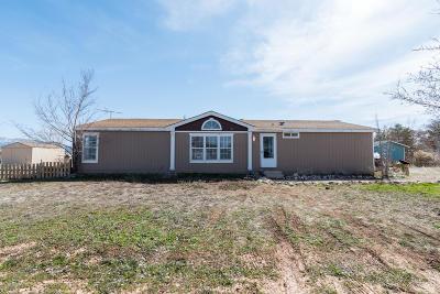 Cedar City UT Single Family Home For Sale: $180,000
