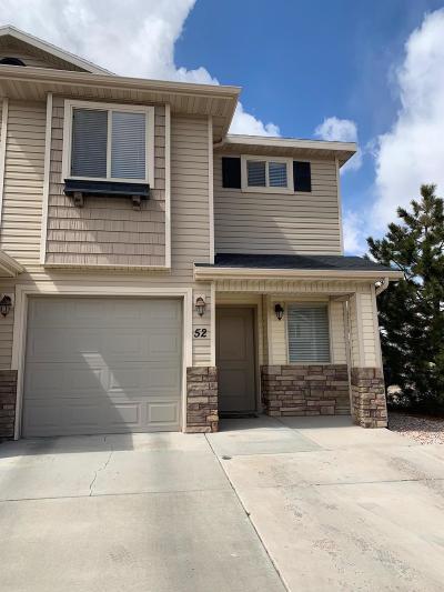 Cedar City UT Condo/Townhouse For Sale: $159,900