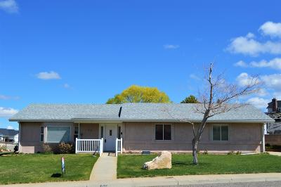 Cedar City Single Family Home For Sale: 615 E 2015 N