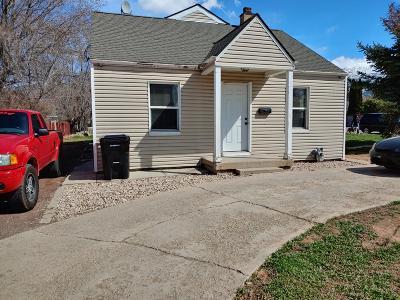 Cedar City Single Family Home For Sale: 110 N 800 W