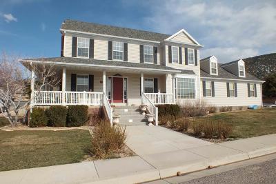 Cedar City Single Family Home For Sale: 2152 N Cliffrose Cir