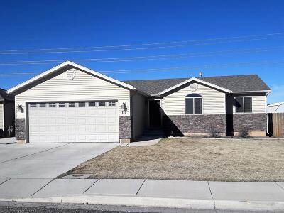 Cedar City Single Family Home For Sale: 139 N 4275 W