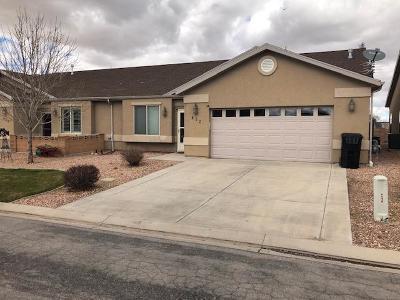 Cedar City Single Family Home For Sale: 452 W 1500 N