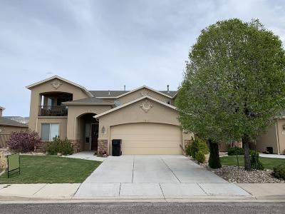 Cedar City Single Family Home For Sale: 1567 E Canyon Dr (1275 W)