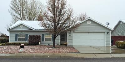 Cedar City Single Family Home For Sale: 4190 W 275 N