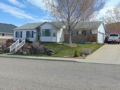 Cedar City Single Family Home For Sale: 2168 N Sumack Cir