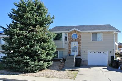 Cedar City UT Single Family Home For Sale: $209,900