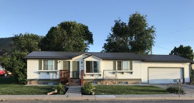 Cedar City UT Single Family Home For Sale: $225,000