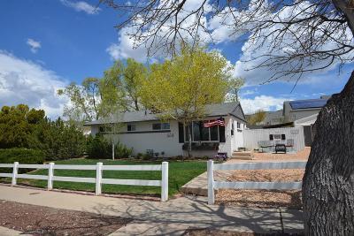 Cedar City Single Family Home For Sale: 553 S 75 E