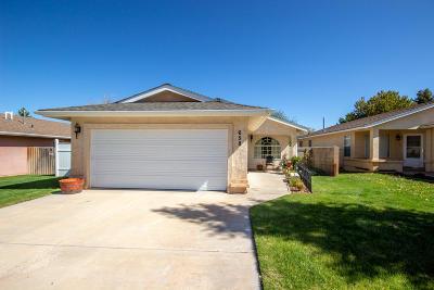 Parowan Single Family Home For Sale: 658 W 60 N