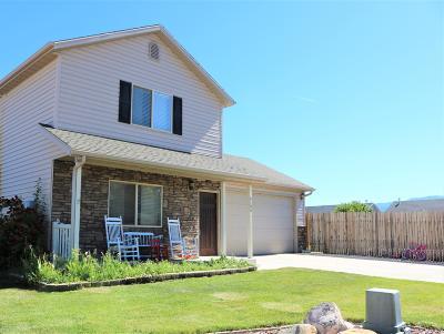 Cedar City Single Family Home For Sale: 4186 W 100 N
