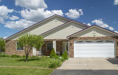 Parowan Single Family Home For Sale: 45 S 300 West