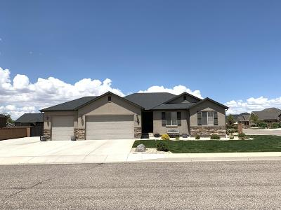 Cedar City Single Family Home For Sale: 3914 W 50 S