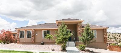 Cedar City Single Family Home For Sale: 420 E Hillview Dr
