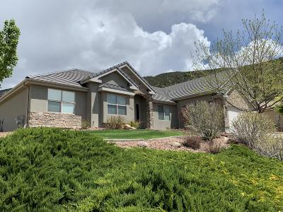 Cedar City Single Family Home For Sale: 1912 N Matchstick Way