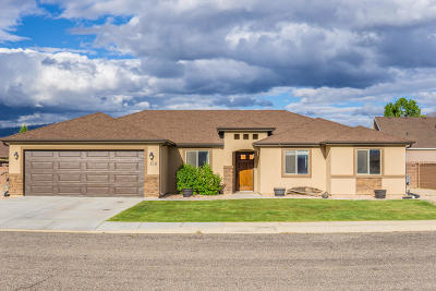 Cedar City Single Family Home Accepting Backup Offers: 129 S 4100 W