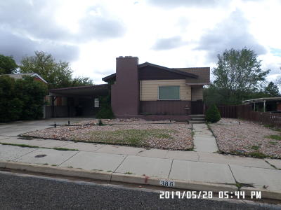 Cedar City Single Family Home Accepting Backup Offers: 386 S 900 W