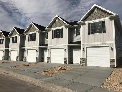 Cedar City Condo/Townhouse For Sale: 404 W 1325 N