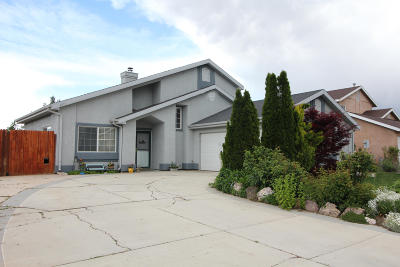 Cedar City Single Family Home For Sale: 4071 W 25 N