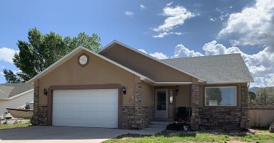 Parowan Single Family Home For Sale: 138 N 750 W