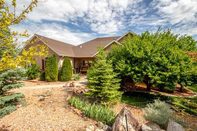 Cedar City Single Family Home For Sale: 4140 W 975 S