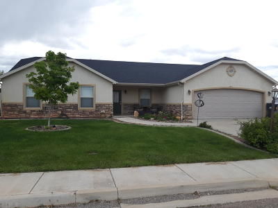 Parowan Single Family Home For Sale: 79 N 775 W