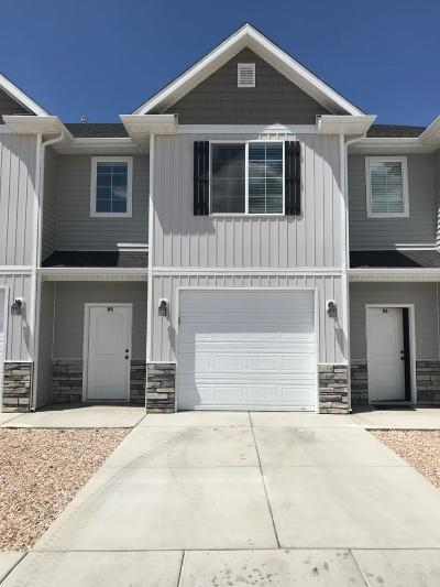 Cedar City Condo/Townhouse For Sale: 474 W 1425 N